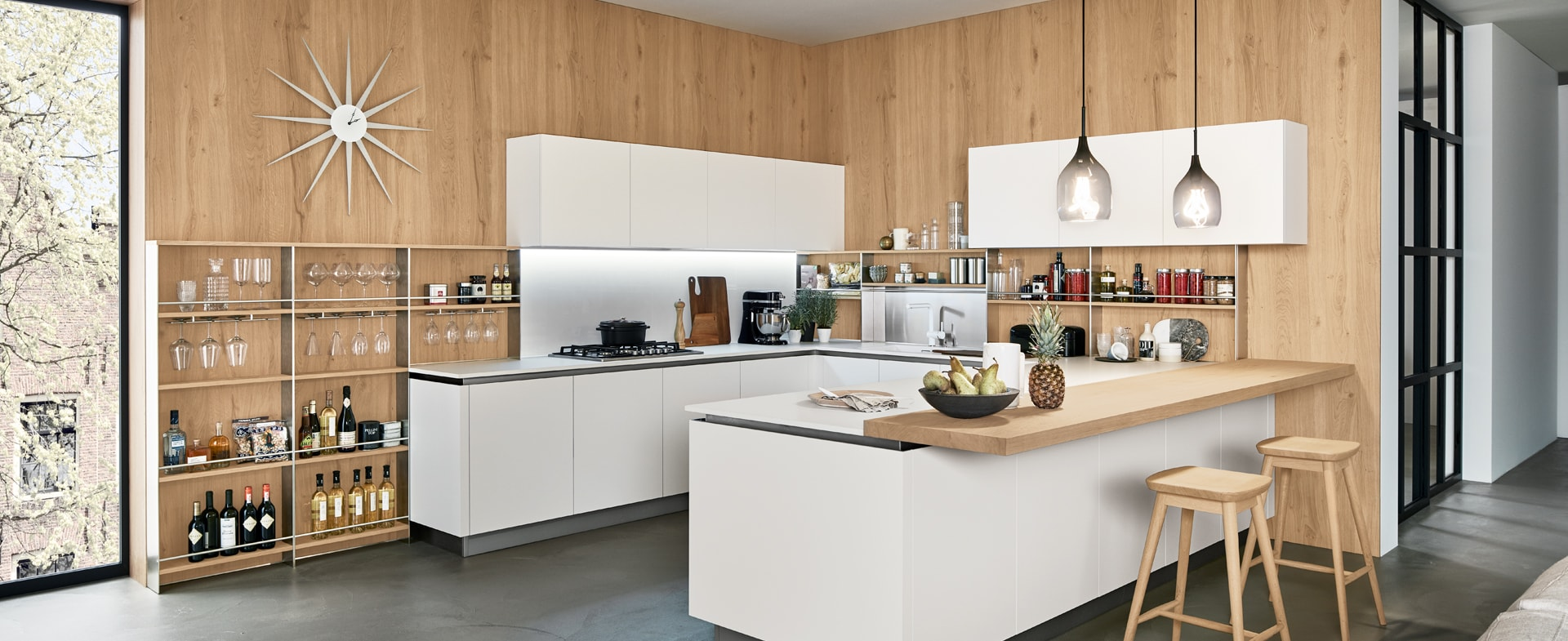 Ilot Central Petite Cuisine cuisine design avec îlot, cuisine avec îlot central et table
