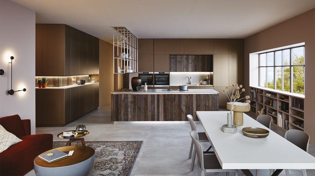 Cuisine moderne en bois à Fréjus