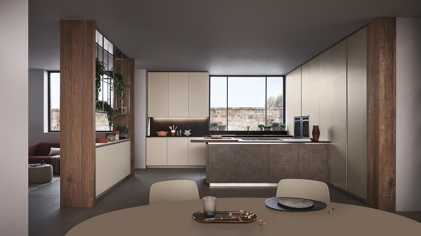 Le Projet Lounge Veneta Cucine Saint Cannat