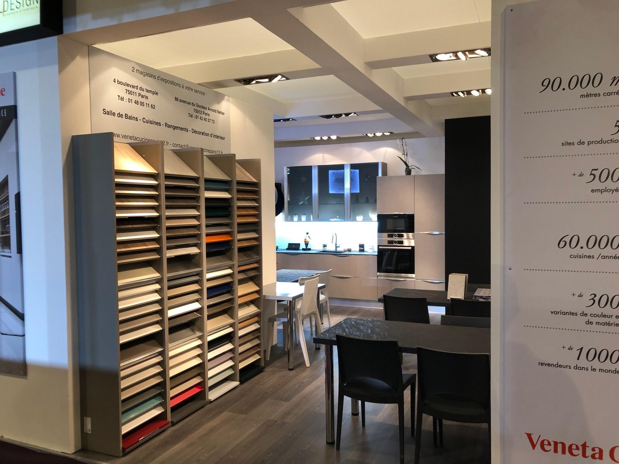 foire de paris hors s rie maison 2018 veneta cucine france. Black Bedroom Furniture Sets. Home Design Ideas