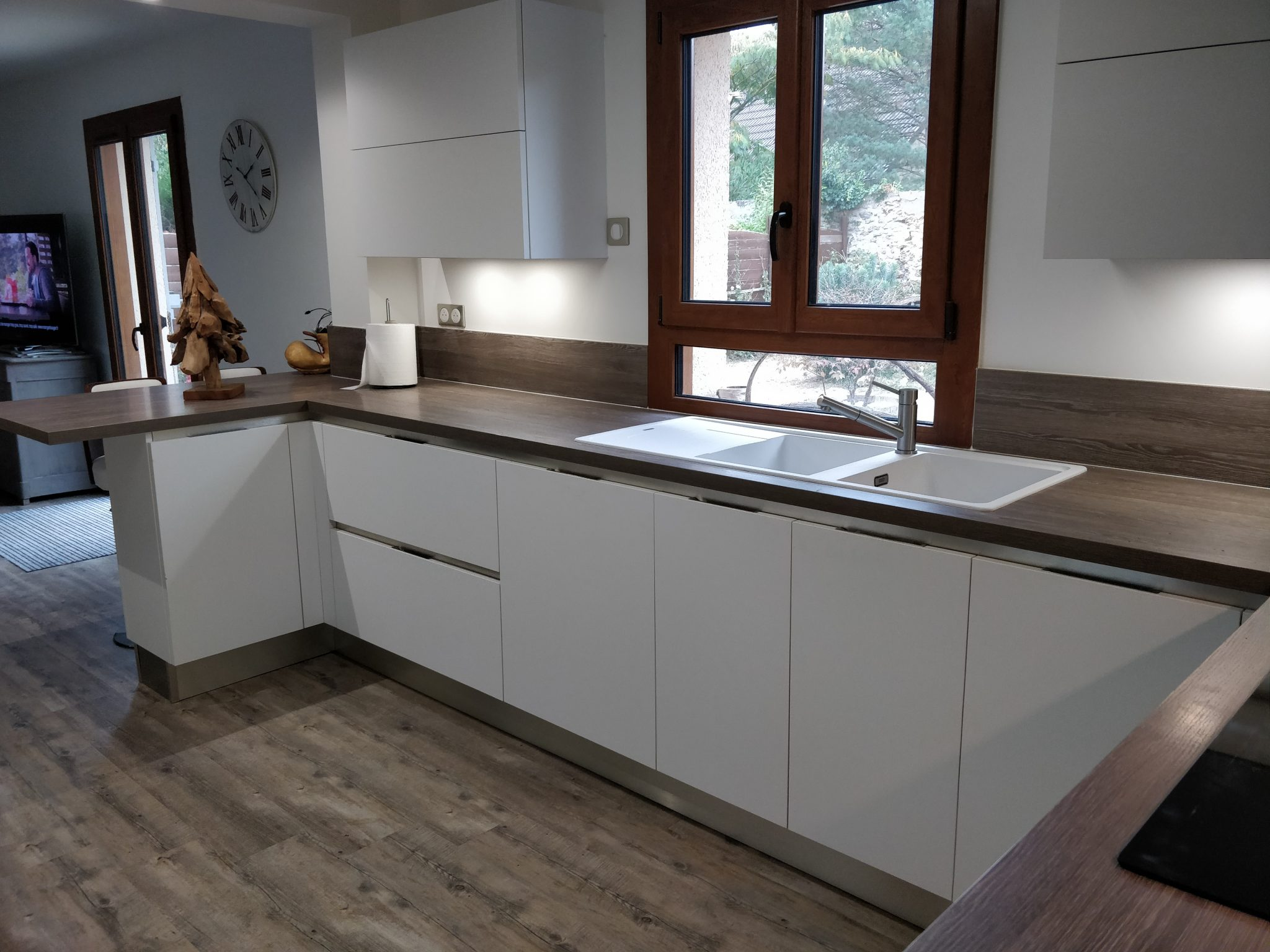 nos r alisations bienvenue chez nathalie yves veneta cucine france. Black Bedroom Furniture Sets. Home Design Ideas