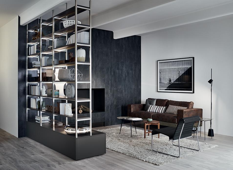 Bibliothèque-modulable-salon-moderne