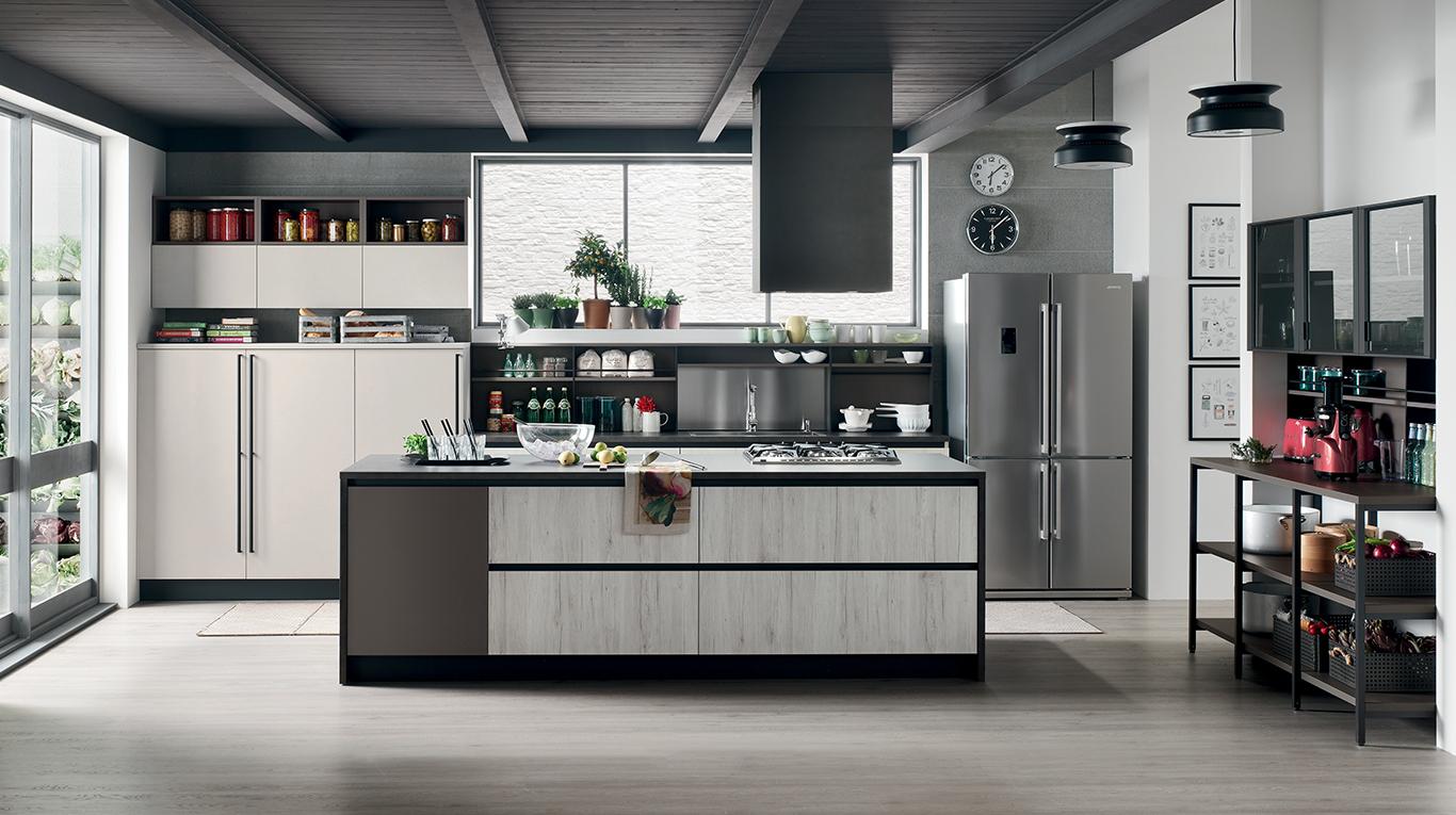 Veneta Cucine Modello Espace.Cuisine Design Frejus Meubles Italiens Design Frejus