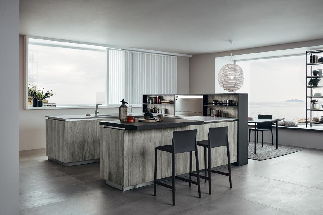 lounge - cuisine industriel